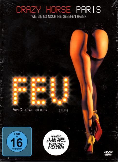Feu - Crazy Horse Paris (Inkl. 16 Seitigem Booklet & Wendeposter) (Mit Dita Von Teese/Carmen Electra/Pamela Anderson)