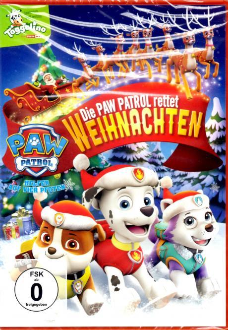 Weihnachten Animation.Video Sue Gerry Paw Patrol Rettet Weihnachten Animation