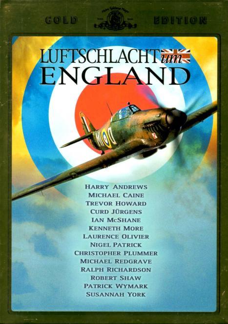 Luftschlacht Um England (2 DVD) (Mit zusätzlichem Hochglanz-Kartonschuber) (Rarität) (Siehe Info unten)