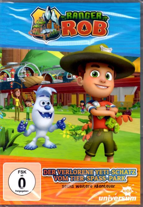 Ranger Rob 1: Der Verlorene Yeti-Schatz Vom Tier-Spaß-Park (Animation)