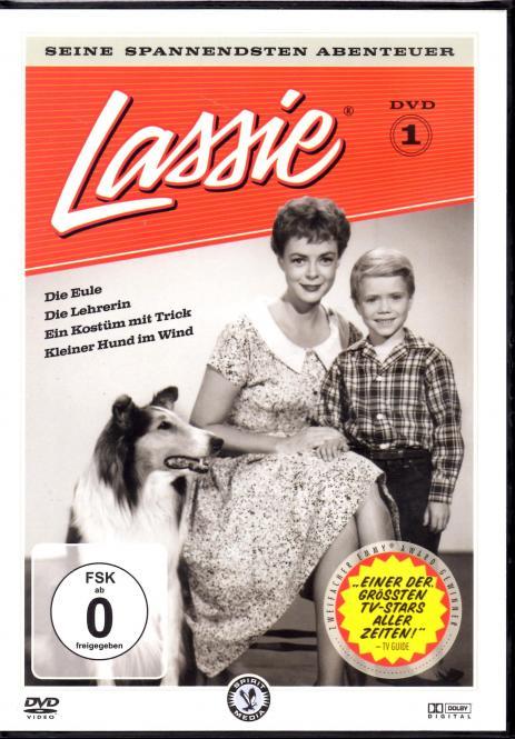 Lassie - Seine Spannendsten Abenteuer (S/W) (Rarität)