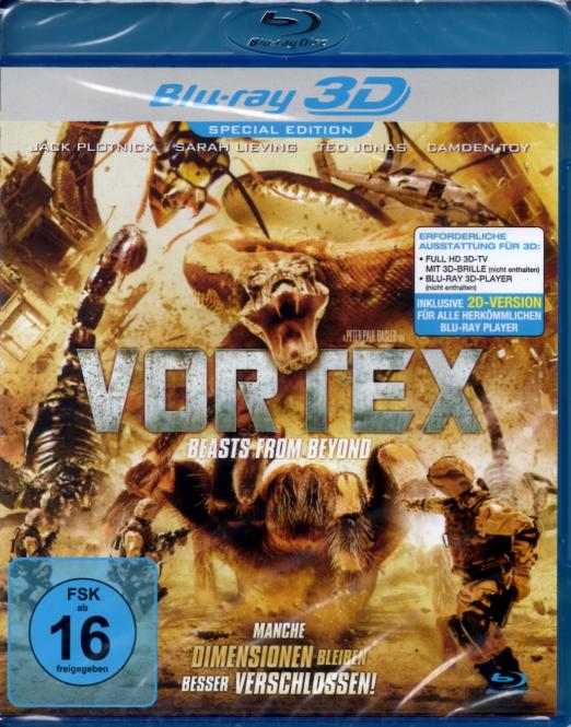 Vortex - Beasts From Beyond (2D & 3D Version) (Special Edition)