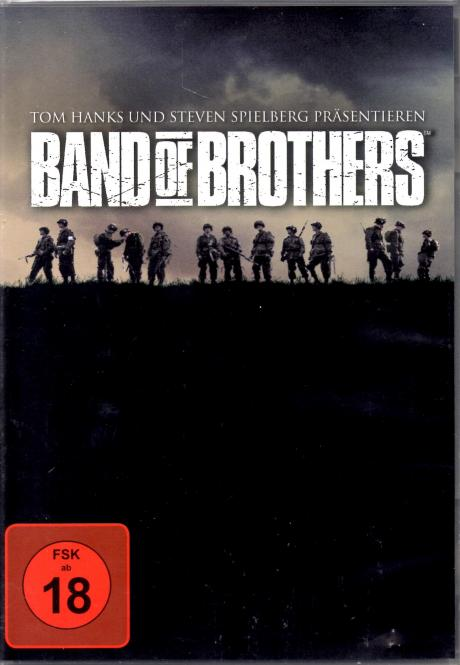 Band Of Brothers - Box (6 DVD / Alle 10 Teile) (Siehe Info unten)