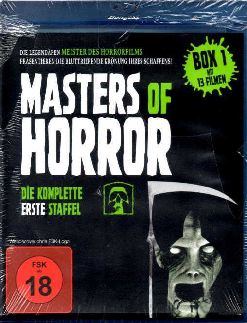 Masters Of Horror - 1. Box (13 Filme / 4 Disc) (ca. 900 Min. Bonusmaterial)