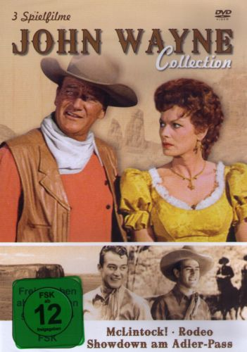 John Wayne Box-Collection (Mc Lintock & Rodeo & Showdown Am Adler-Pass)