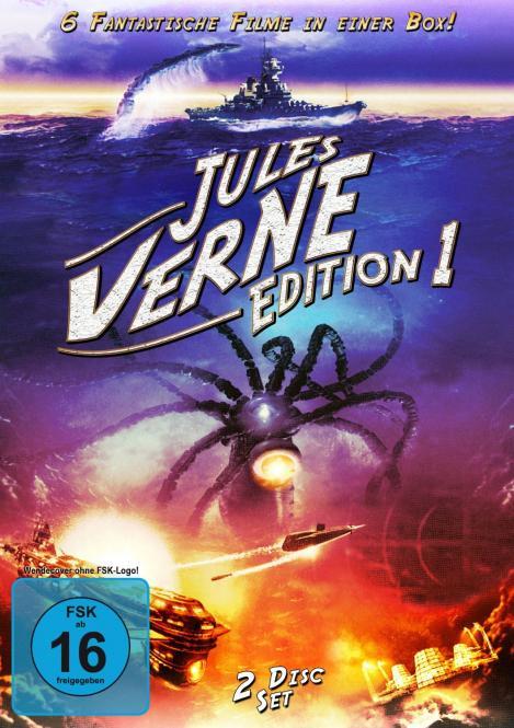 Jules Verne Edition 1 (2 DVD / 6 Filme) (Klassiker)