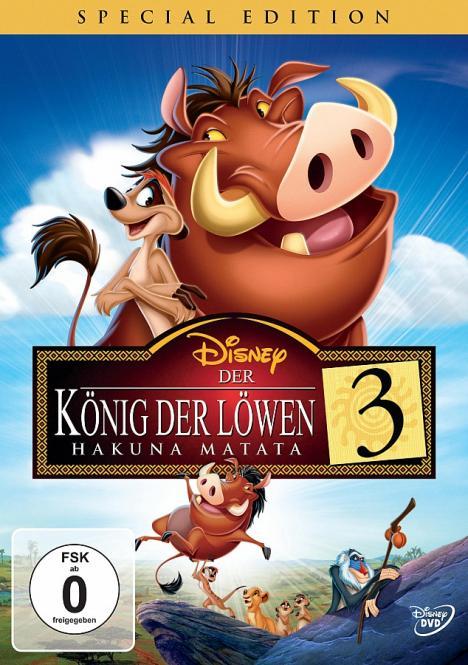 Der König Der Löwen 3 (Disney) (Special Edition) (Animation) (Rarität)