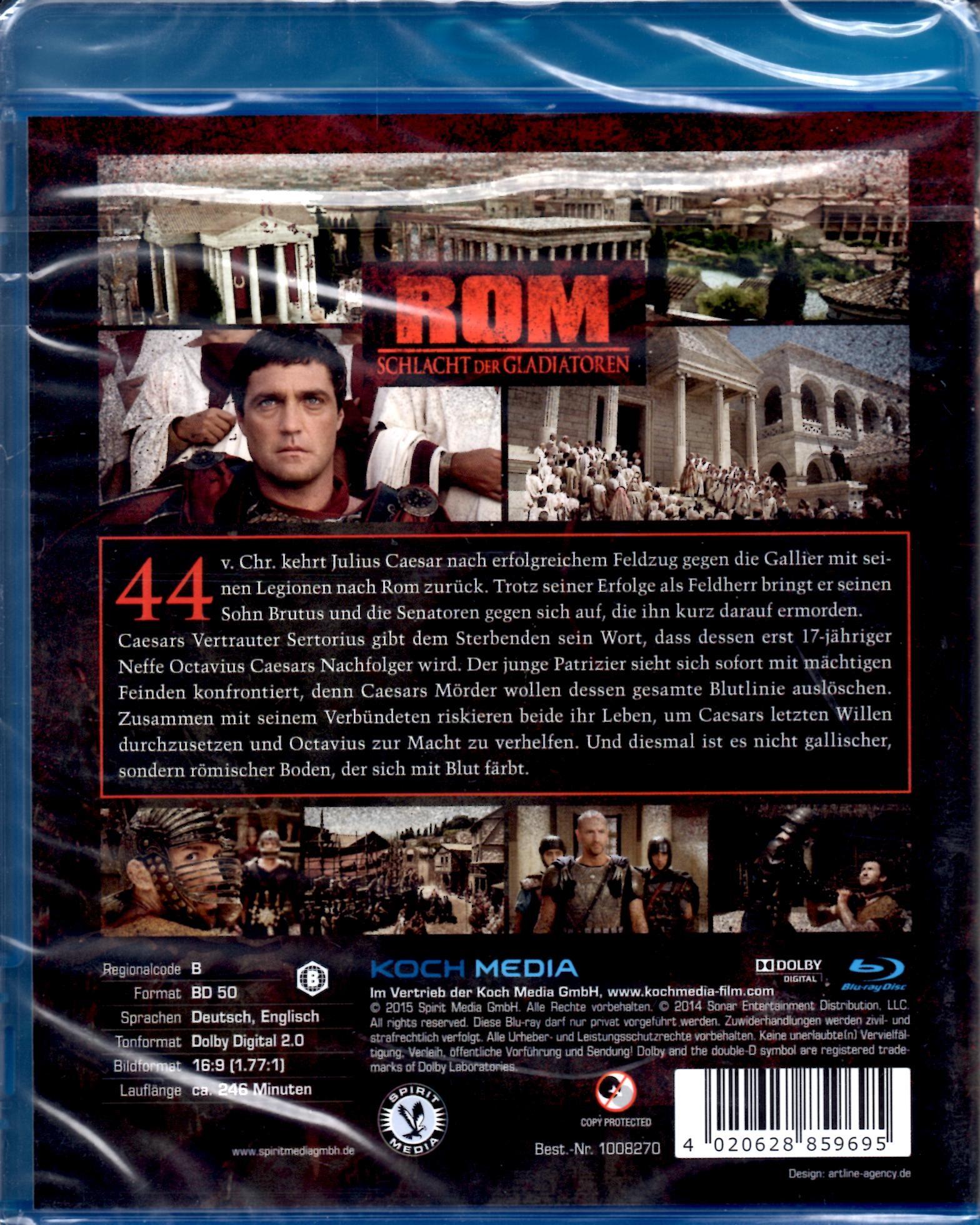 Rom Schlacht Der Gladiatoren