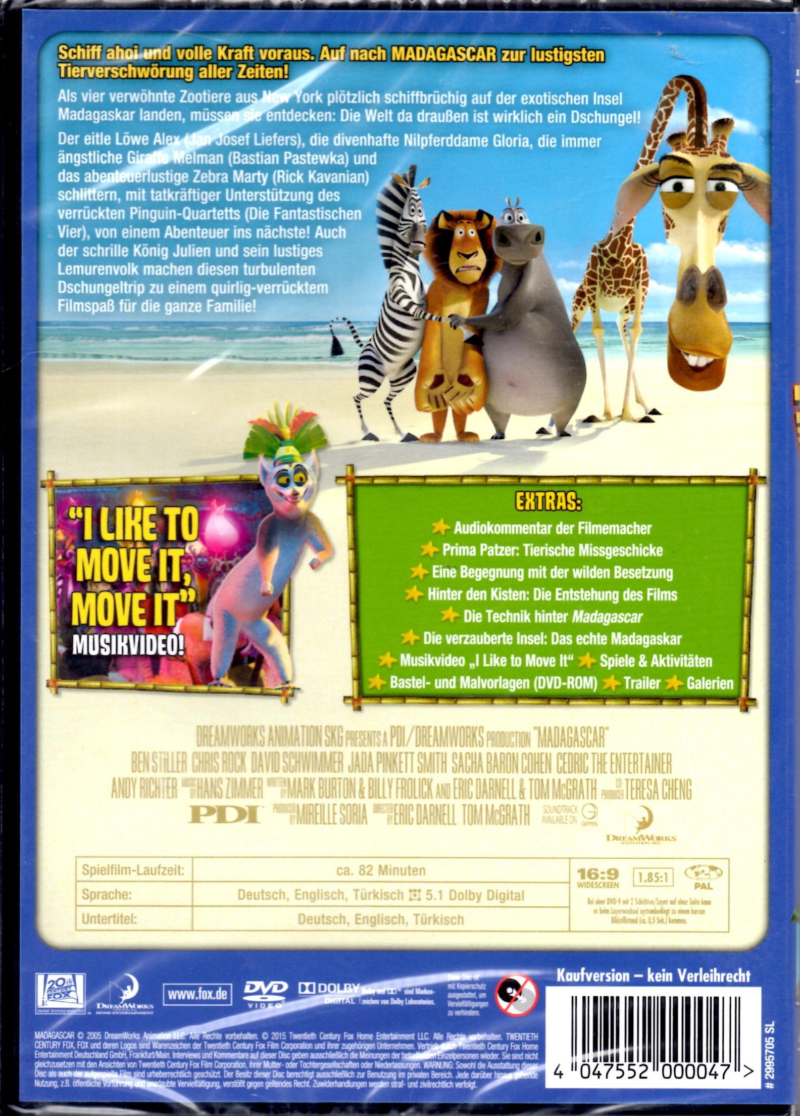 Video Sue & Gerry | Madagascar 1 (Animation) | online kaufen